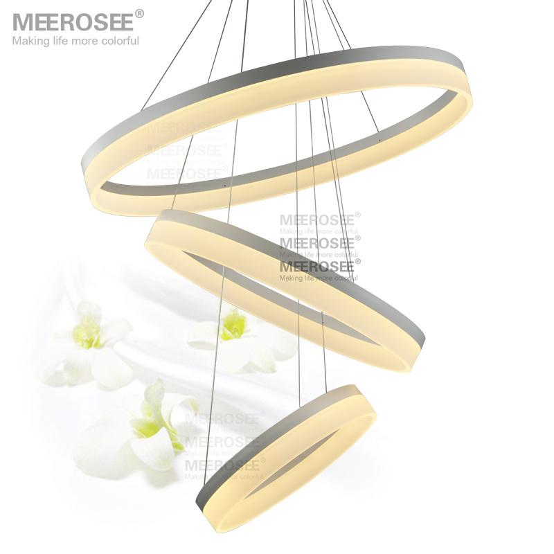 Modern Led Pendant Lights Led Ring Lamp Lustres Led
